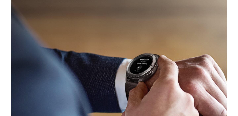 Samsung Gear S3 Frontier para negocios