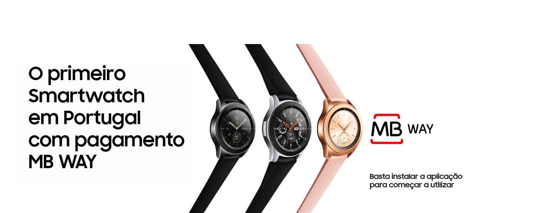 O primeiro smartwatch em portugal com pagamento MB WAY