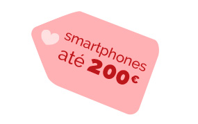 Smartphones até 200EUR