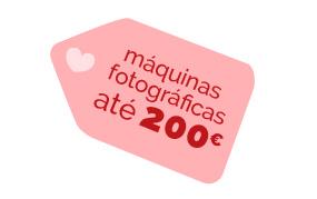 máquinas fotográficas até 200EUR