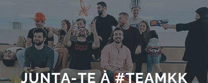 Junta-te à #KKTeam