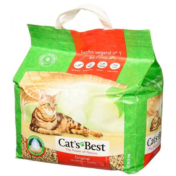 Cat's Best Areia Aglomerante Vegetal Oko Plus Gatos 10L