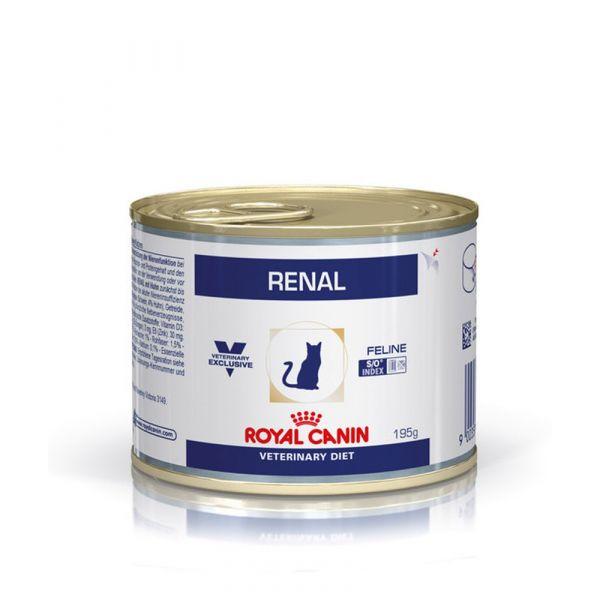 Ração Húmida Royal Canin Vet Diet Renal Cat 195g