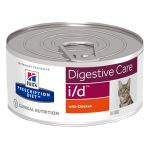 Ração Húmida Hill's Prescription Diet i/d Digestive Care Chicken Cat 156g