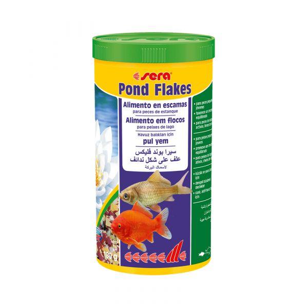 Sera Alimento Peixe Pond Flakes 1000ml