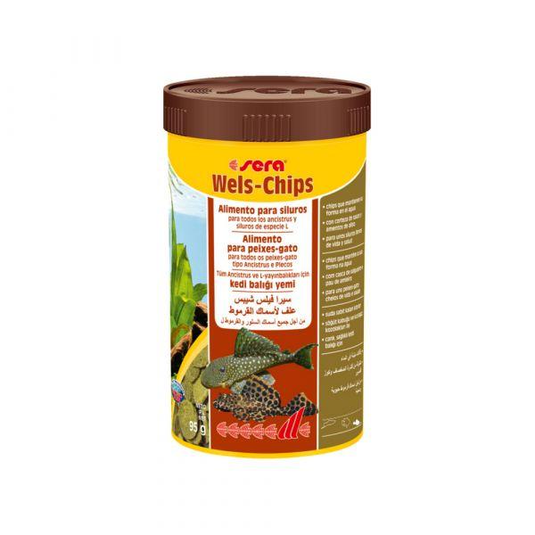 Sera Alimento Peixe Wels-Chips 100ml