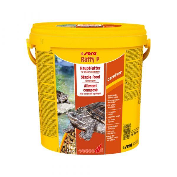 Sera Alimento Tartarugas Raffy P 10l
