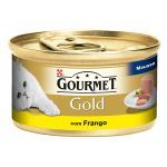 Ração Húmida Purina Gourmet Gold Mousse Chicken Cat 85g