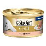 Ração Húmida Purina Gourmet Gold Mousse Salmon Cat 85g