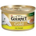 Ração Húmida Purina Gourmet Gold Terrine Rabbit Cat 85g
