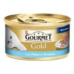Ração Húmida Purina Gourmet Gold Mousse Ocean Fish Cat 85g