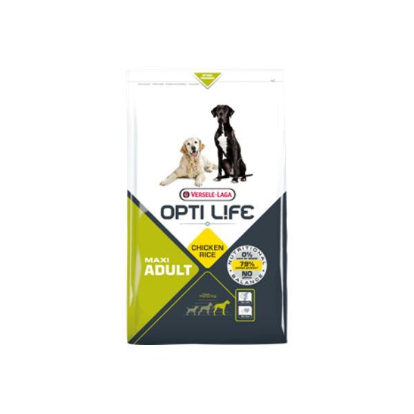 Ração Seca Versele Laga Opti Life Maxi Adult 12,5Kg