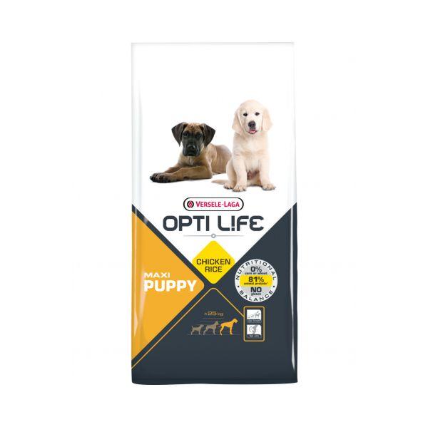 Ração Seca Versele Laga Opti Life Maxi Puppy 12,5Kg