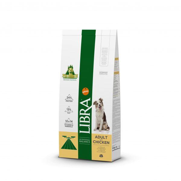 Ração Seca Libra Adult Chicken & Rice Dog 15Kg