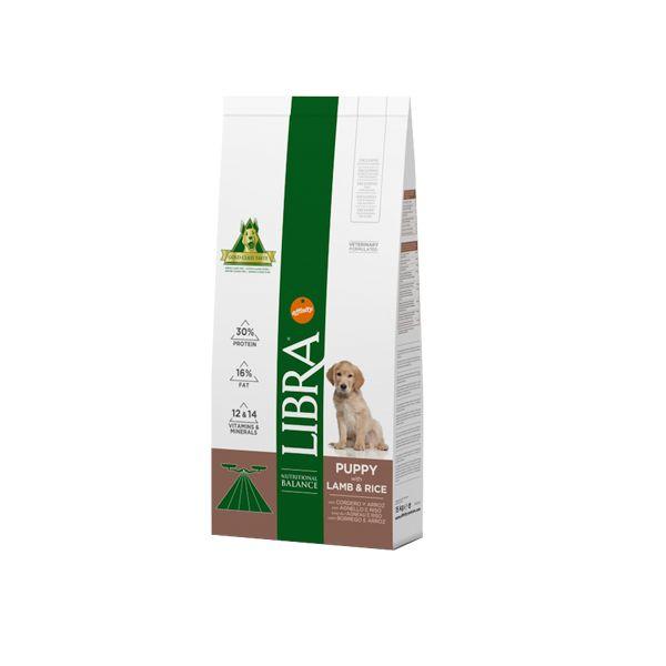 Ração Seca Libra Puppy Lamb & Rice 15Kg