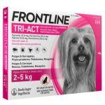Frontline Tri-Act Cão 2-5Kg 3 Pipetas