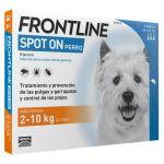 Frontline Spot On Cão até 10Kg 3 Pipetas