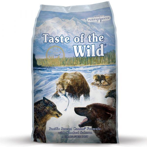 Ração Seca Taste of the Wild Pacific Stream Adult Smoked Salmon 13Kg