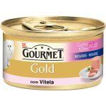 Ração Húmida Purina Gourmet Gold Mousse Veal Kitten 85g