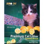 Trixie Areia Absorvente Sumo Cat Litter 2x 10l Aroma Limão
