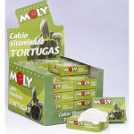 Moly Bloco Alimento c/Cálcio Vitaminado Tartaruga 1x