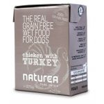 Ração Húmida Naturea Ckicken & Turkey Dog 375g
