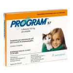 Ampolas Novartis Program S7 Gato 133mg 6 unidades