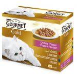 Ração Húmida Purina Gourmet Gold Duplo Prazer Cat 12x 85g