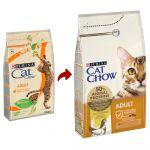 Ração Seca Purina Cat Chow Adult Chicken 15Kg
