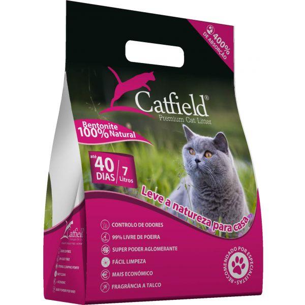 Catfield Premium Cat Litter Pó Talco 7L