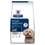 Ração Seca Hill's Prescription Diet z/d Skin/Food Sensitivities Mini Dog 6Kg