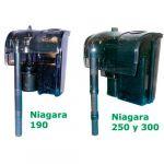 Wave Filtros Mochila Niagara Carvão 250
