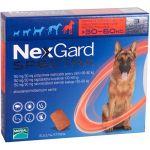 Nexgard Spectra Antiparasitário Cão 30-60Kg 3 Comprimidos