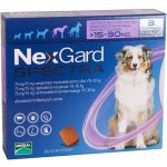 Nexgard Spectra Antiparasitário Cão 15-30Kg 3 Comprimidos
