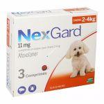 Nexgard Antiparasitário Cão 2-4Kg 3 Comprimidos