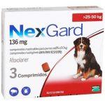 Nexgard Antiparasitário Cão 25-50Kg 3 Comprimidos