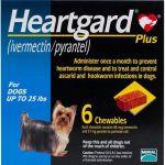 Merial Heartgard 30 plus Antiparasitário Cão até 11kg 6 Comprimidos