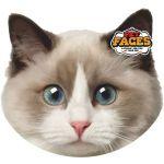 Pet Faces Almofada Cat Faces Ragdoll