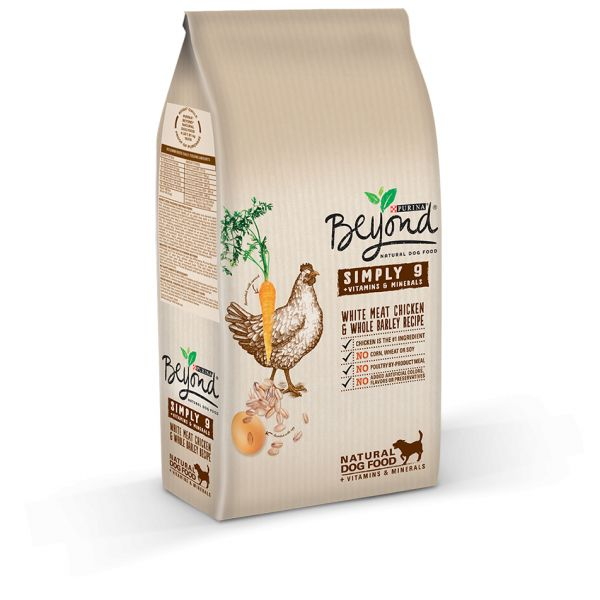 Ração Seca Purina Beyond Simply 9 Adult Chicken & Barley Dog 7,5Kg