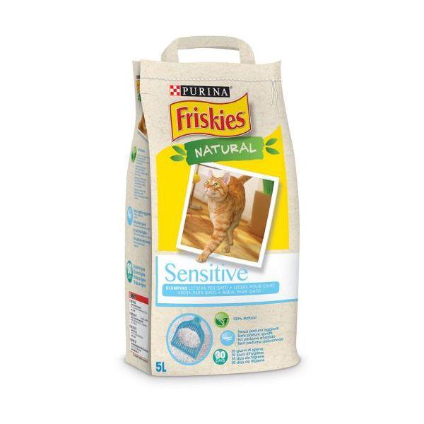 Friskies Areia Absorvente 100% Natural Cat 5l