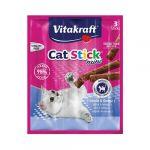 Vitakraft Cat Stick Mini Peixe Omega 3 18g