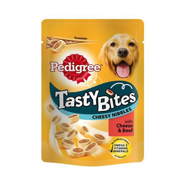 Resultado de imagem para Pedigree Snack Tasty Bites Cheesy