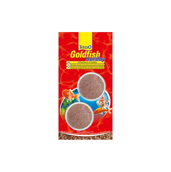 Tetra alimento peixe goldfish holiday 24g comparador de for Alimento para goldfish