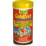 Tetra alimento peixe goldfish colour sticks 250ml for Alimento para goldfish