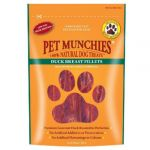 """Pet Munchies Snack Cães Duck Breast Fillets Bifes Peito Duck """"80 G"""""""