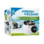 Catit Bebedouro Fonte Aço Inoxidável Fresh & Clear 2L