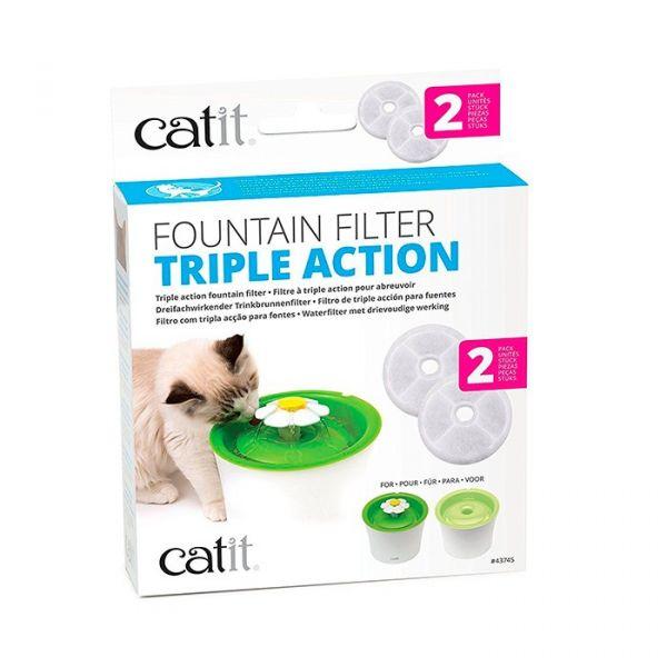 Catit Filtro para Fonte Flower Fountain 2.0 2 unidades