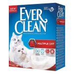 Ever Clean Areia Auto Aglomerante Multiple Cat 6L