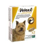 Merial Veloxa Dog Wormer Chewable comprimidos Box of 2