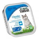 Ração Húmida Yarrah Organic Fish & Spirulina Wet Cat 100g